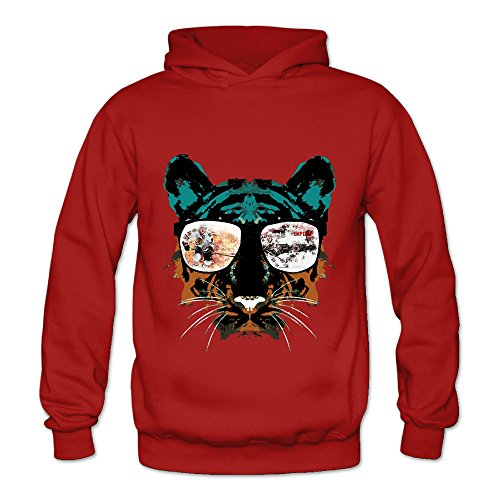 Lennakay Work Adult's Jonathan Toews Hoodie With No Pocket Red For Woman SizeM