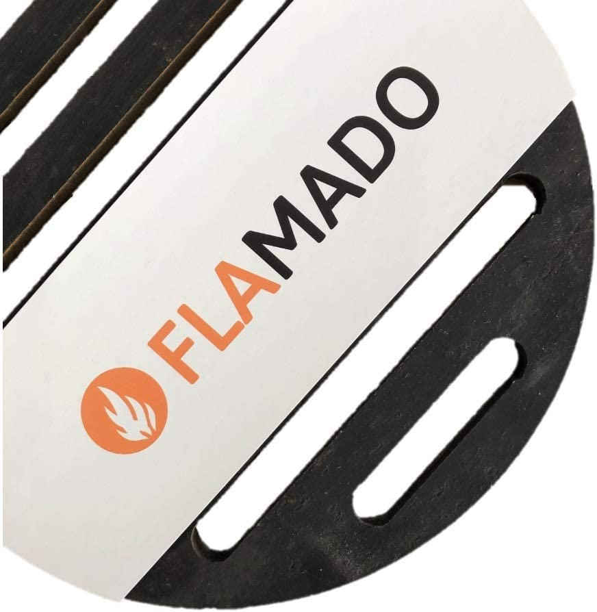 Flamado Kaminrost Rund /Ø 173 x 10 mm Ascherost aus Stahl