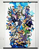 JoJo's Bizarre Adventure Series Home Decor Wall Scroll Poster Fabric Painting 23.6 x 35.4 Inches-049