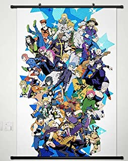 jojou0027s bizarre adventure series home decor wall scroll poster fabric painting 236 x 354 inches