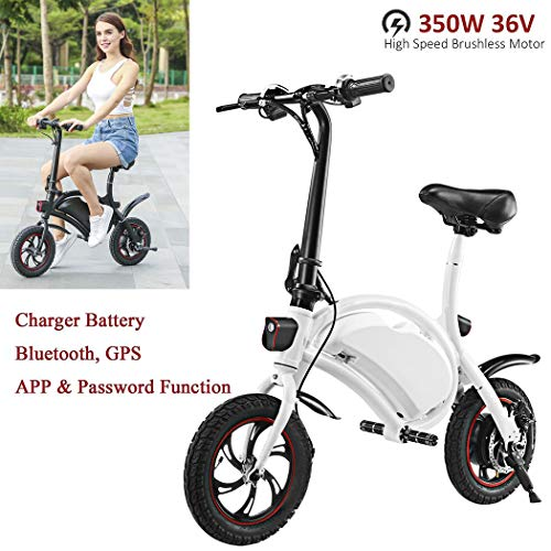Learn More About Miageek Folding Aluminum Electric Bike 36V Removable Lithium-Ion Battery Lightweigh...