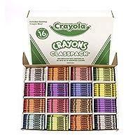 Classpack Assortment, School Supplies, 16 (50 Each), 800 Regular Size Crayons