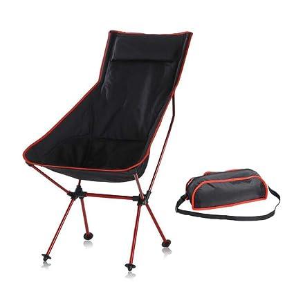 Mhxzkhl Silla de Camping Plegable, Aluminio Ultraligero ...