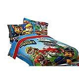 Paw Patrol Twin Sized 4 Piece Bedding Set - Comforter & Sheet Set