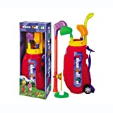 Master Golfer Deluxe Toy Golf Play Set for Kids
