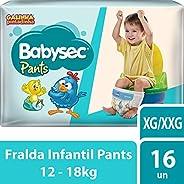 Fralda Babysec Galinha Pintadinha Pants Xg/Xxg 16 Unids, Babysec, XG/XXG