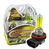 yellow h11 fog lights - GP THUNDER 3500K H11 55W Golden Yellow Light Bulbs for Fog Light -High Beam - Low Beam SGP35K-H11 PAIR
