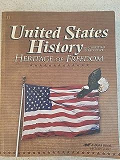 United States History Heritage Of Freedom Teacher Test Key