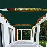 Patio Paradise 16'x16' Dark Green Sun Shade Sail