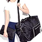 Travel Bag Large Lightweight Tote Bag Foldable With Zipper Weekender Bag Carry on