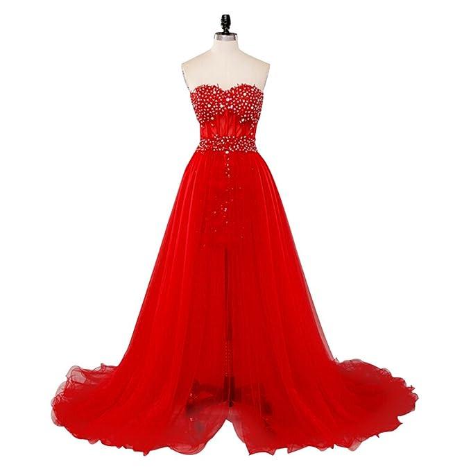 superior quality c236e 47656 Eastlion lungo elegante del merletto della sirena di sera ...