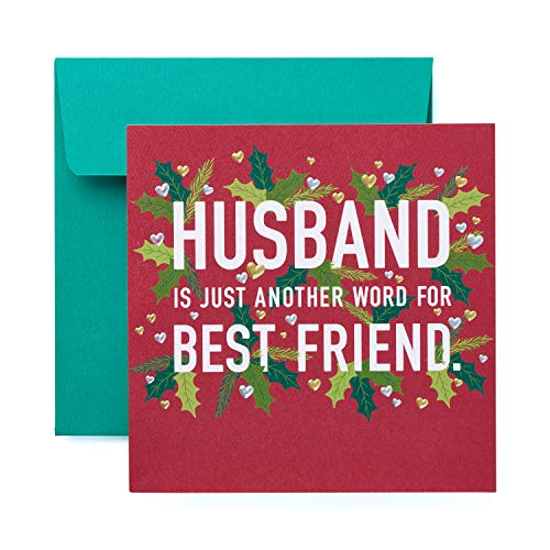 American Greetings Christmas Card for Husband (Best Friend) (Christmas To Husband Merry)