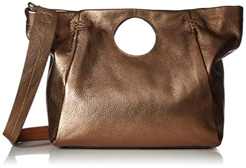 Vince Camuto Bea Satchel, antique copp