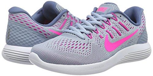 Nike Chaussures Lunarglide ocan bleu Bleu Training Brouillard Gris Femme 8 Tint Rose De gq4gr