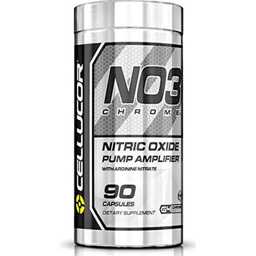 Cellucor No3 Chrome Nitric Oxide Supplement, 90 Count (Pack of 3)