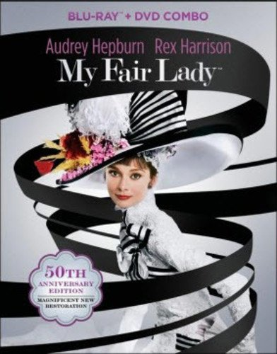 Blu-ray : My Fair Lady (50th Anniversary Edition) (With DVD, Anniversary Edition, Boxed Set, Widescreen, Mono Sound)