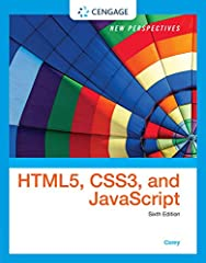 Discover the thorough instruction you need to build dynamic, interactive Web sites from scratch with NEW PERSPECTIVES ON HTML5, CSS3, AND JAVASCRIPT, 6E. This user-friendly book provides comprehensive coverage of HTML, CSS, and JavaScript wit...