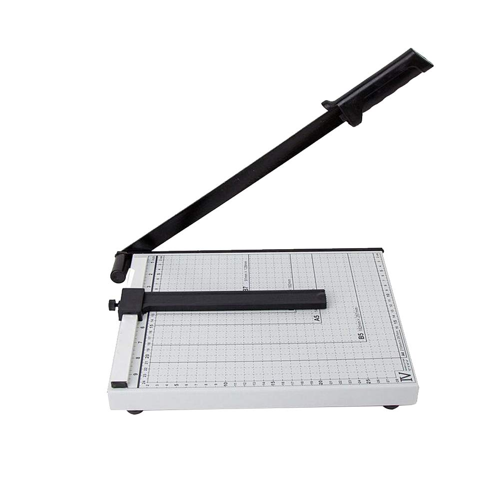 Paper Cutter Heavy Duty A4 Paper Guillotine Cutter Paper Trimmer for Office Commercial Photocopy Printing Shop by YaptheS
