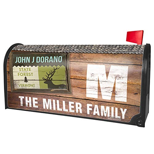 NEONBLOND Custom Mailbox Cover National US Forest John J Dorano State Forest -