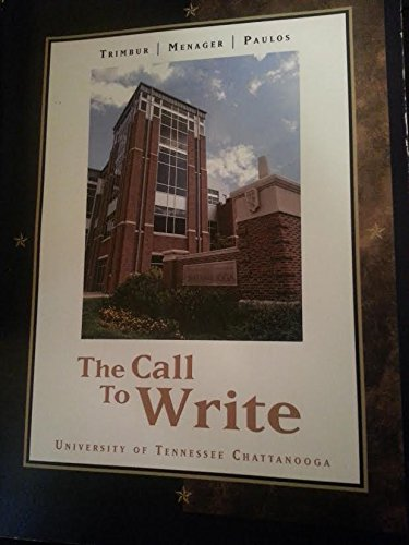 Download The Call to Write - University of Tennessee Chattanooga Edition ebook
