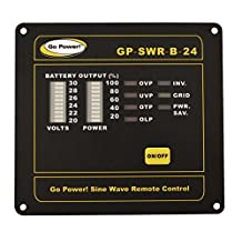 Go Power! GP-SWR-B-24 Inverter Remote for the 24V GP-SW1000, 2000 and 3000