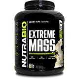 Cheap NutraBio Extreme Mass 6 lbs (Vanilla) – High Calorie Mass Gainer Supplement