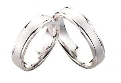 Partner anillos anillos de bodas de plata 837 sin piedra ...