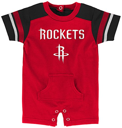 fan products of NBA Newborn & Infant Romper Houston Rockets-Red-12 Months