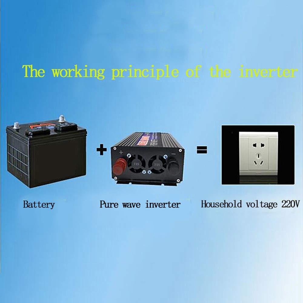 Casinlog 1000W Pure Sine Wave Inverter To Ac220V 50Hz Power Converter Automotive Boost Inverter 24V