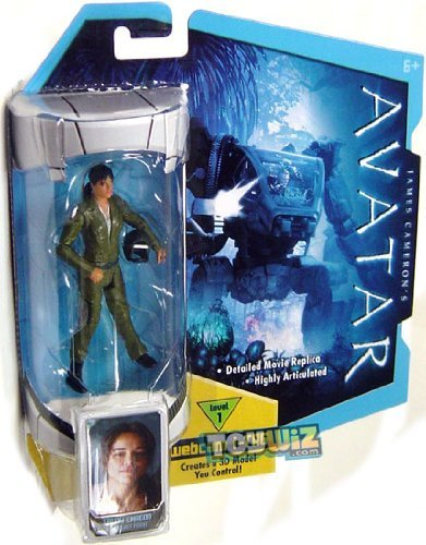 Trudy Toys (Mattel Avatar 3.75 inches Action Figure / Avatar RDA Trudy Chacon Action Figure)