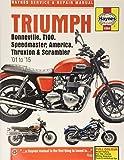 Triumph Bonneville, T100, Speedmaster, America, Thruxton & Scrambler '01 to '15 (Haynes Service & Repair Manual)