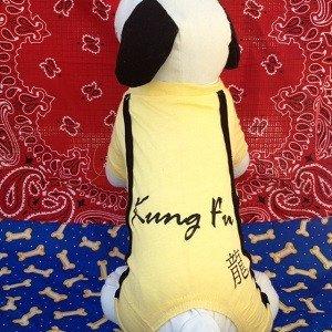 Kung Fu Dog Costume (Kung Fu Pajamas for Small Dogs (Medium))