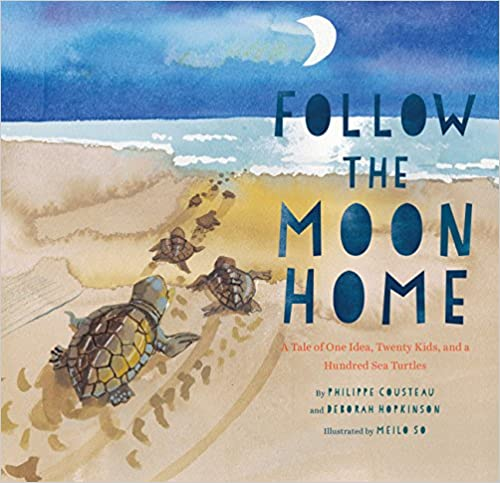 cover image, Follow the Moon Home