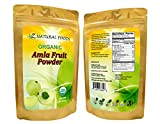 100% Pure, All-Natural, Raw Amla Berry Powder (Amalaki) - Superfood, Antioxidant, USDA Certified Organic, Non-GMO, Vegan, 133 servings (1 lb)