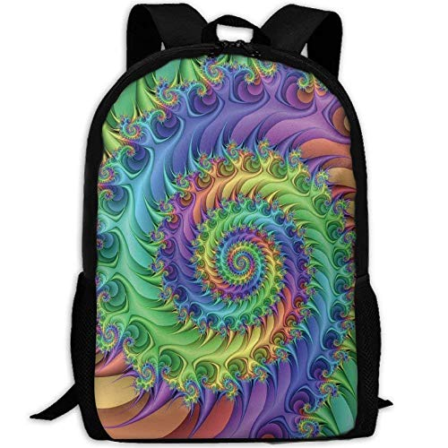 YIXKC Backpack Adult Colorful Art Style Tie Dye Unique Shoulders Bag Daypacks by YIXKC (Image #2)