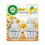 Air Wick plug in Scented Oil 12 Refills, Cold Stone Creamery Vanilla Bean , (6x2x.67oz), Essential Oils, Air Freshener