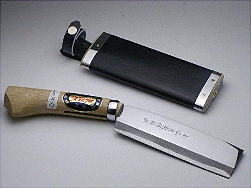 本場土佐 火造り鉈 最高級 腰ナタ 片刃 白紙 鋼165 mm B00501SEQ6