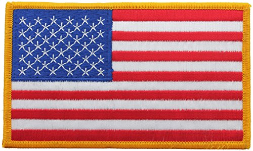 (Jumbo US Flag Patch 3