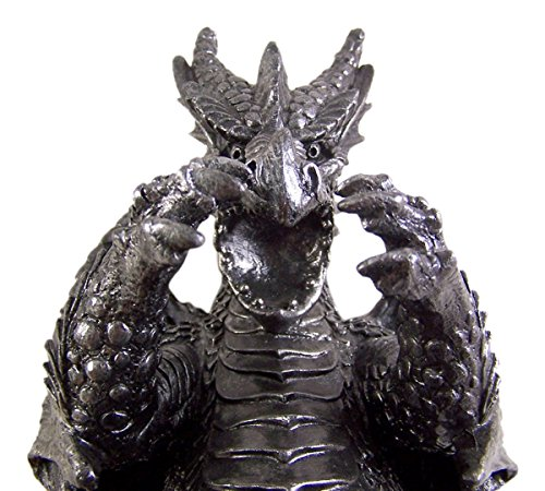 Gothic Dragon Wine Bottle Holder 6 3/4 Inch by Dragon Wine Display (Image #3)