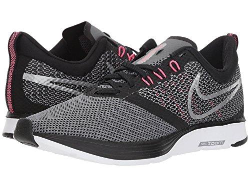 持ってる献身ポルノ[NIKE(ナイキ)] レディースランニングシューズ?スニーカー?靴 Zoom Strike Black/Metallic Silver/Cool Grey 5.5 (22.5cm) B - Medium