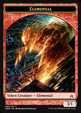- Magic: the Gathering - Elemental (009/011) - Oath of The Gatewatch