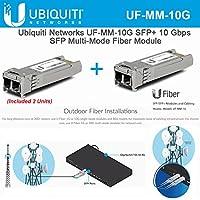 Ubiquiti UF-MM-10G SFP+ 10Gbps SFP Multi-Mode Fiber Module (2 Units)