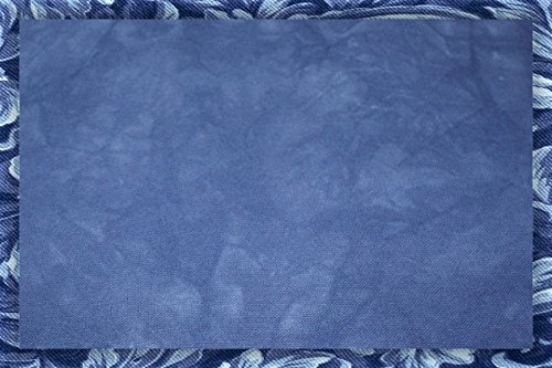 Hand-dyed 18 Count Aida Cloth (DMC/Charles Craft) - 19x35 - Midnight Blue
