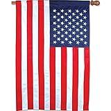 Premier Kites 53611 House Applique Flag, USA Flag, 36 by 60-Inch