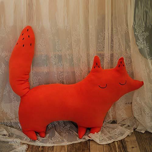 Trumpet (42cm50cm) West Fox JJH Soft Dinosaur Pillow Plush Toy Doll Birthday Gift Rag Doll Girl Cute Bed Sleeping Pillow West Whale Large (68cm80cm)