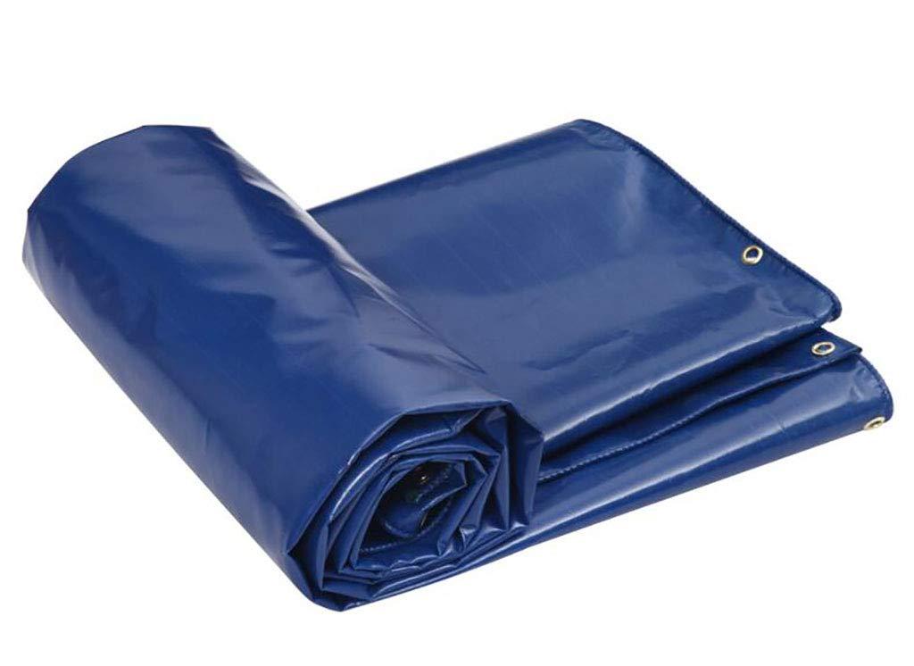 ターポリン ターポリンパッキングポンチョサンスクリーン日よけターポリン屋外防水ターポリンキャンバスターポリン車のターポリン520グラム/ m2、厚さ0.5ミリメートル (Color : A, Size : 4*4m) B07SQVFWTF A 4*4m