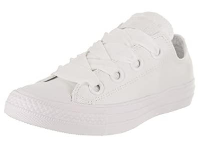 dcebbc4c62e1 Converse Women s Chuck Taylor All Star Big Eyelets Ox White White White  Casual Shoe