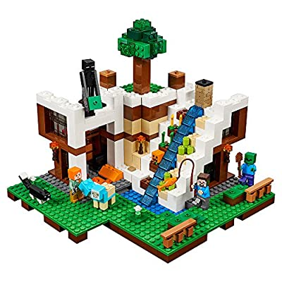 LEGO Minecraft The Waterfall Base 21134 from LEGO