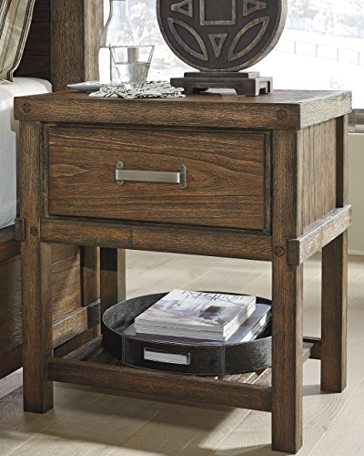 Ashley Industries: Signature Design By Ashley Nightstand, Brown