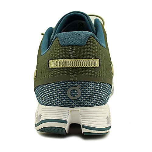 ON Cloud Road Running Shoes Olive/Flame Mens Verde oliva